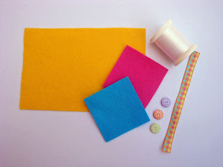 Supplies needed to Make your own Felt Easter Egg