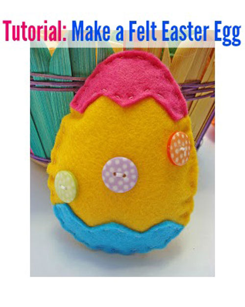 Tutorial: Make-your-own-Felt Eater Egg