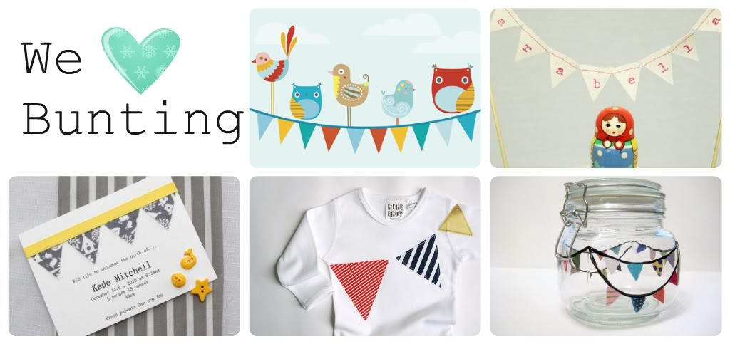 We love bunting