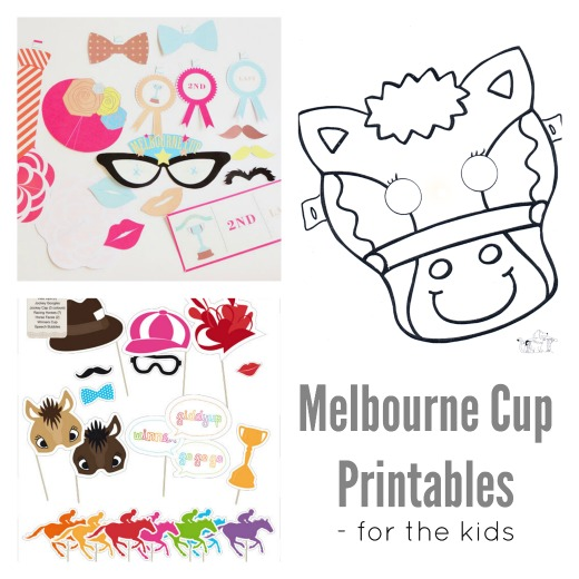 Melbourne Cup Printables for the kids
