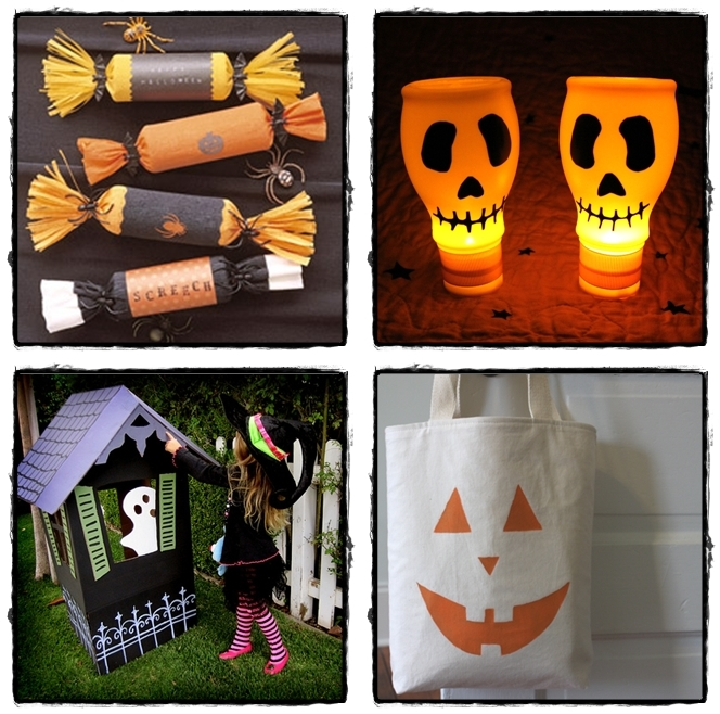 diy crafty halloween