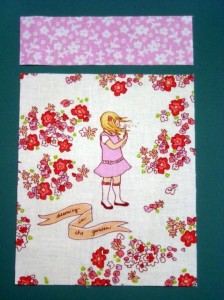 Make a Dolls Quilt - Step 2