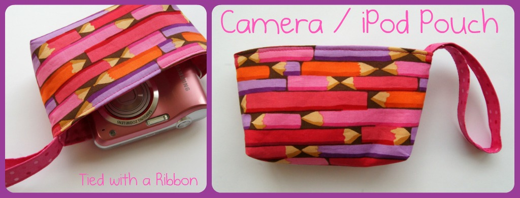 DIY Camera Pouch Tutorial