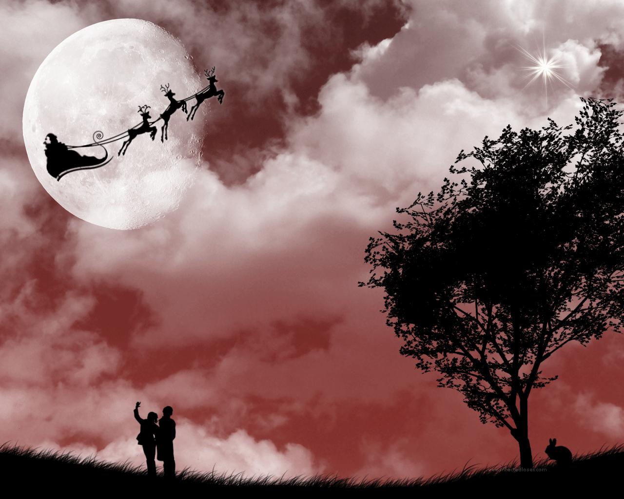 Santa by sabriena Merry Christmas