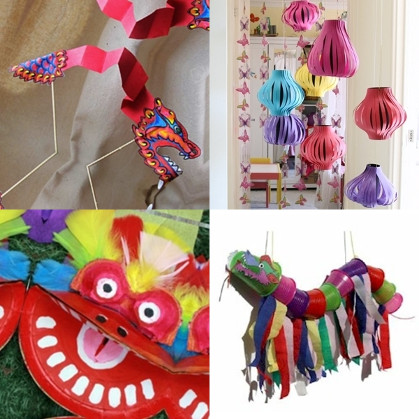 Awesome New Year Craft Ideas For Kids Part - 14: Chinese New Year Kids Craft Ideas