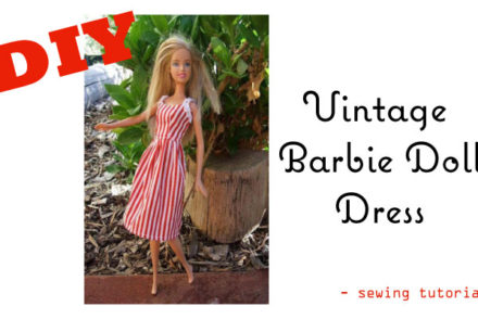 Make a Vintage-Barbie-Doll-Dress