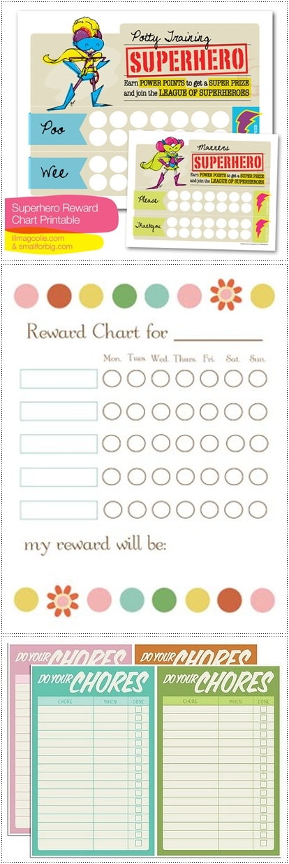 rewardcharts1 Make! Kids Reward Charts