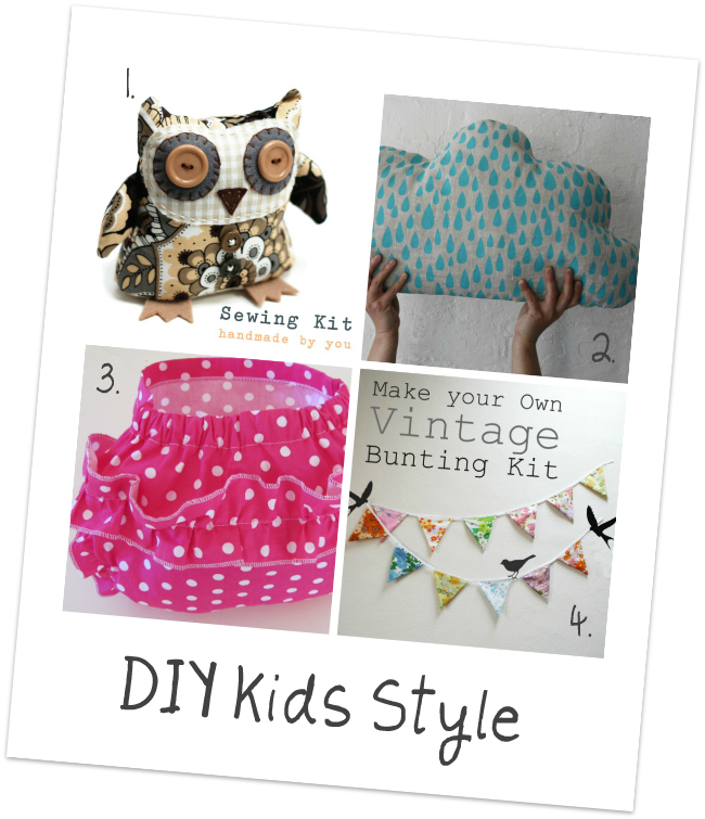 DIY Kids Style Craft Kits