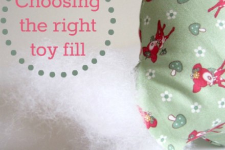 Choosing the right toy fill