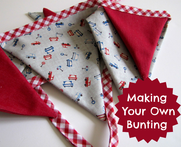 bunting header Make! DIY Bunting