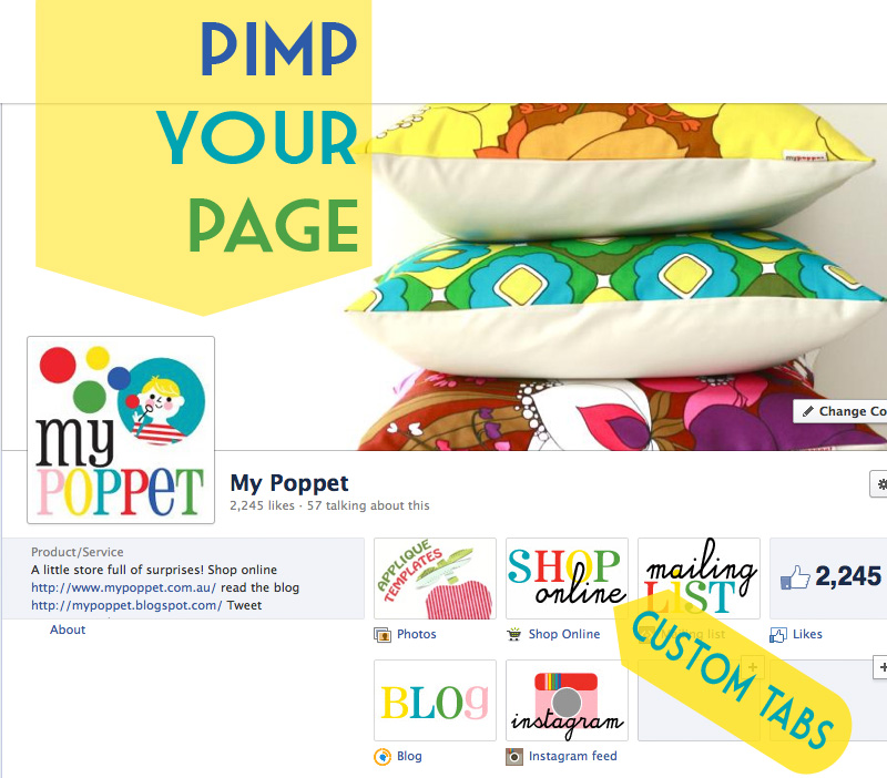pimpyourimage Customise Your Facebook Business Page