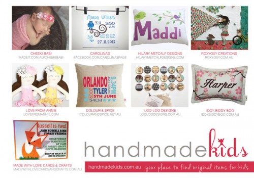 Bespoke Magazine Issue-12 | Handmade Kids Collaborative Ad
