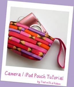 Camera Pouch1 257x300 Tutorials