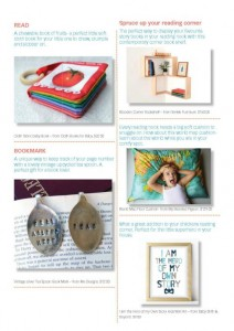 One Thimble Magazine - Handmade Kids Gift Guide page 2