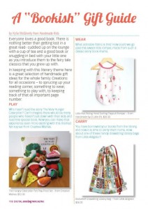 One Thimble magazine Gift guide Page 1
