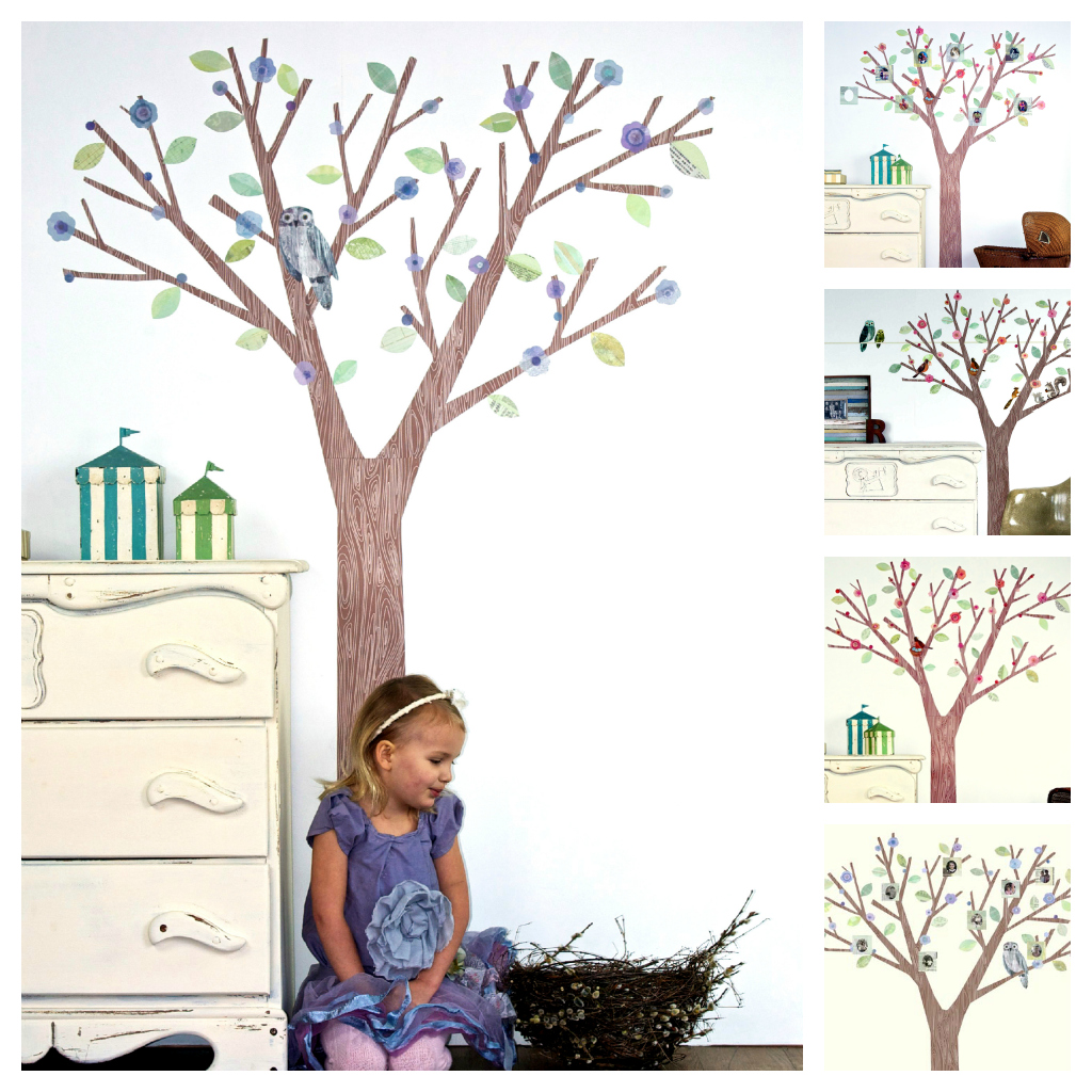 blossomtrees Introducing: Leafy Dreams Nursery Decals