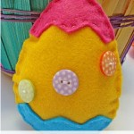 Make your own Felt Easter Egg