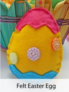 Make your own Felt Easter Egg