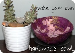 handmadebowl 300x214 Tutorials