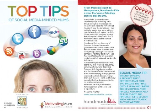 toptips 500x357 In the Press
