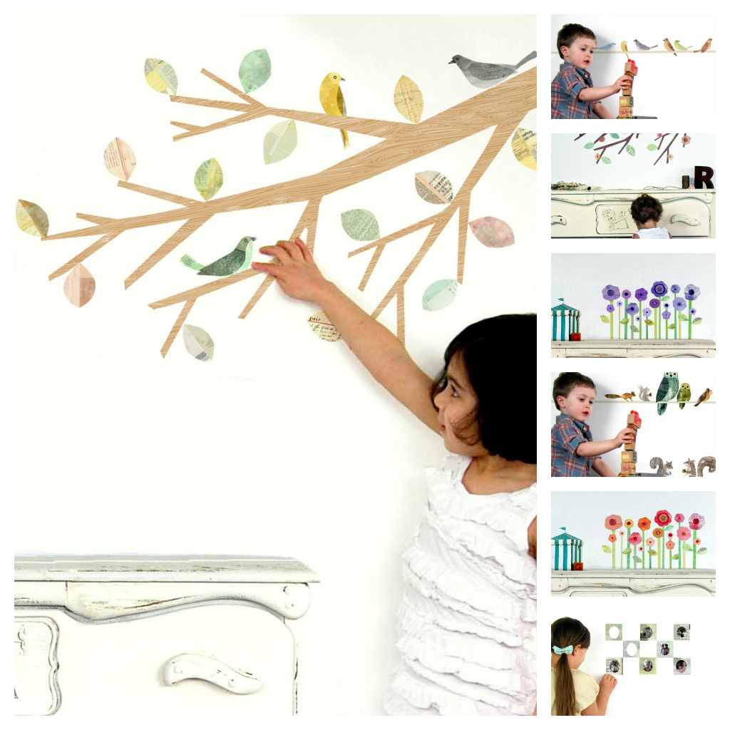 whimsybranches Introducing: Leafy Dreams Nursery Decals