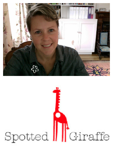 sarahspottedgiraffe Meet the Maker ~ Spotted Giraffe