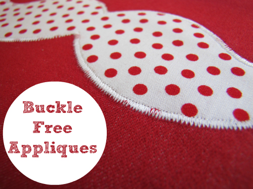 TheHabyGoddessApplique Make: Buckle Free Appliqués