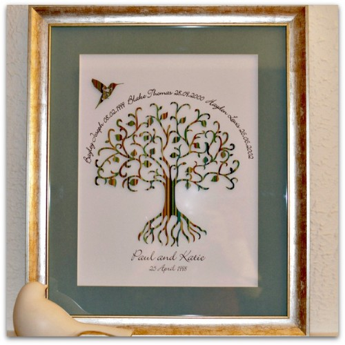 Family Tree Personalised Art
