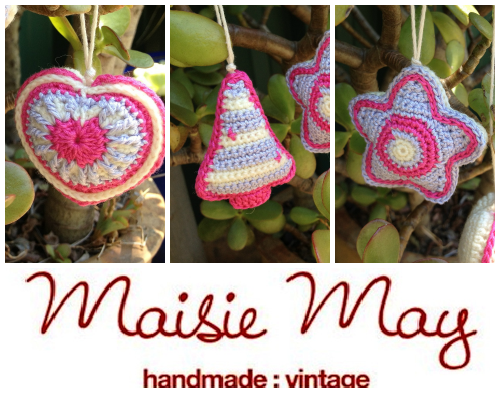 Introducing: Maisie May\'s Crochet Christmas Decorations - Handmade ...