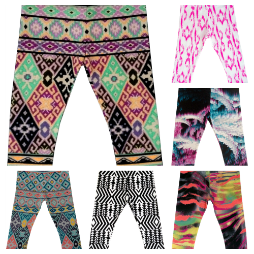 Kids Printed Leggings