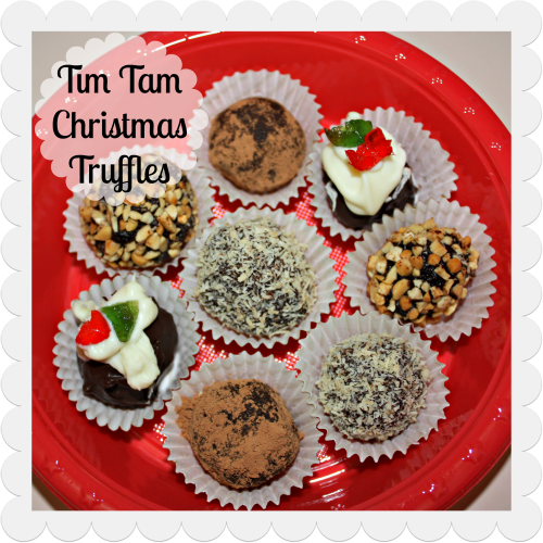 Make: Tim Tam Christmas Truffles