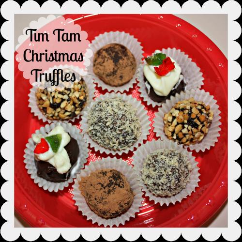 Make: Tim Tam Christmas Truffles