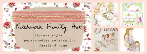 Patchwork Family Art