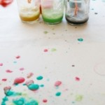 Cakies ~ DIY: WATERCOLOR BUBBLE ART