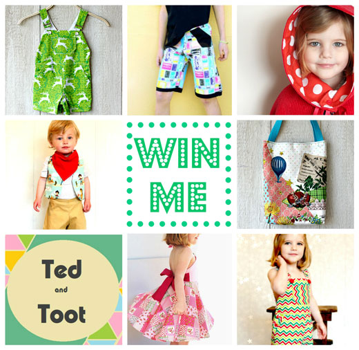 Ted and Toot Giveaway Win Stuff ~ Ted and Toot