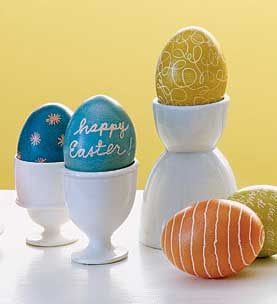 Martha Stewart Egg Dyeing 101