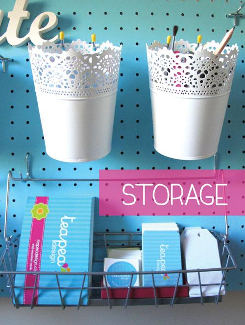 Pedboard Storage idea
