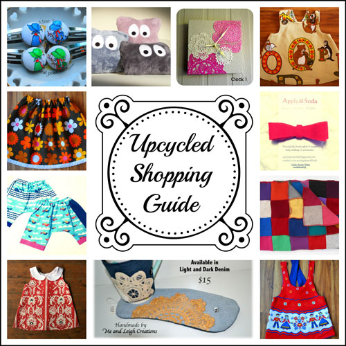 Upcycled Shopping Guide