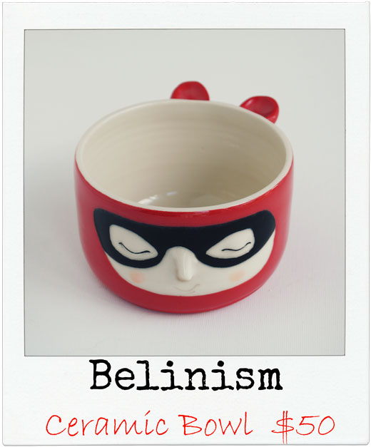 Belinism Ceramic Bowl Let's go Christmas Shopping! Goodies for the boys.