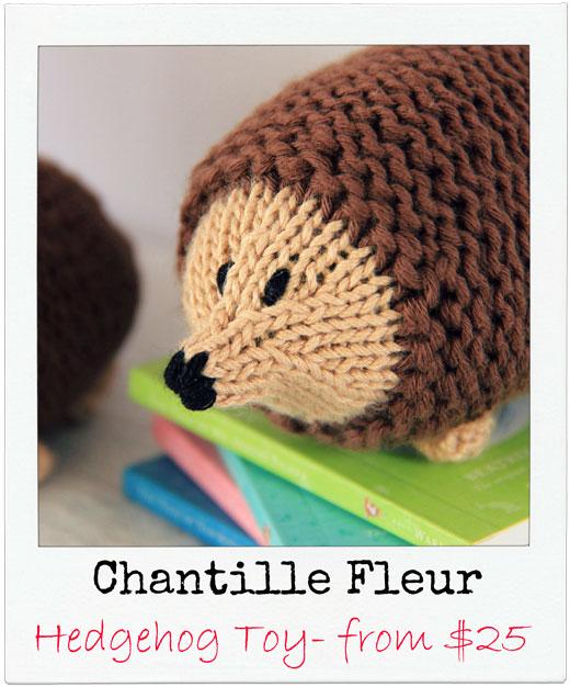 Chantille-Fleur Handmade Hedgehog