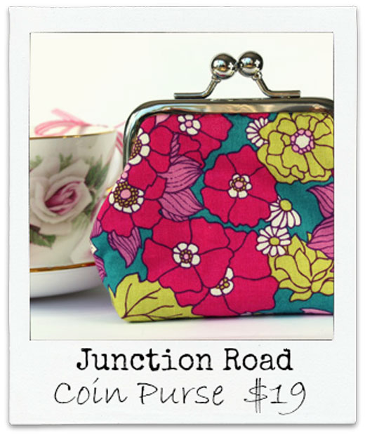 Junction-Road Coin Purse