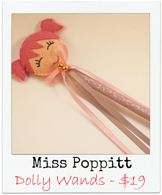 Miss-Poppitt Handmade Dolly Wands