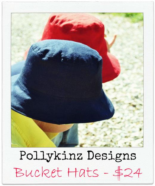 Pollykinz-Designs Handmade Bucket Hats