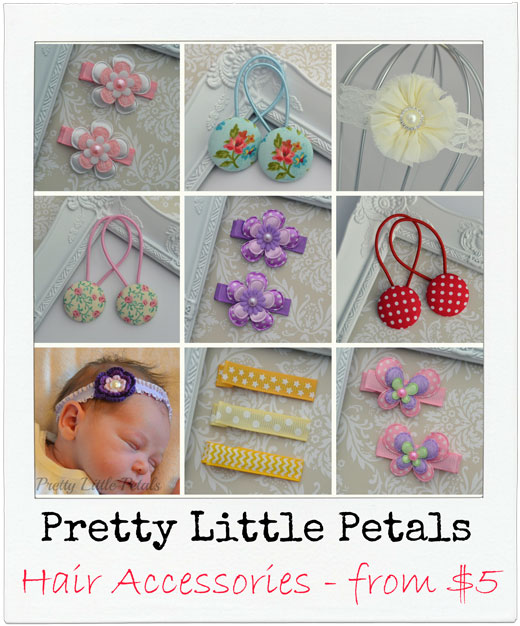 Pretty-Little-Petals Handmade Hair Accessories