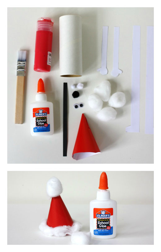 DIY Jolly Santa 1 DIY: Jolly Little Santa
