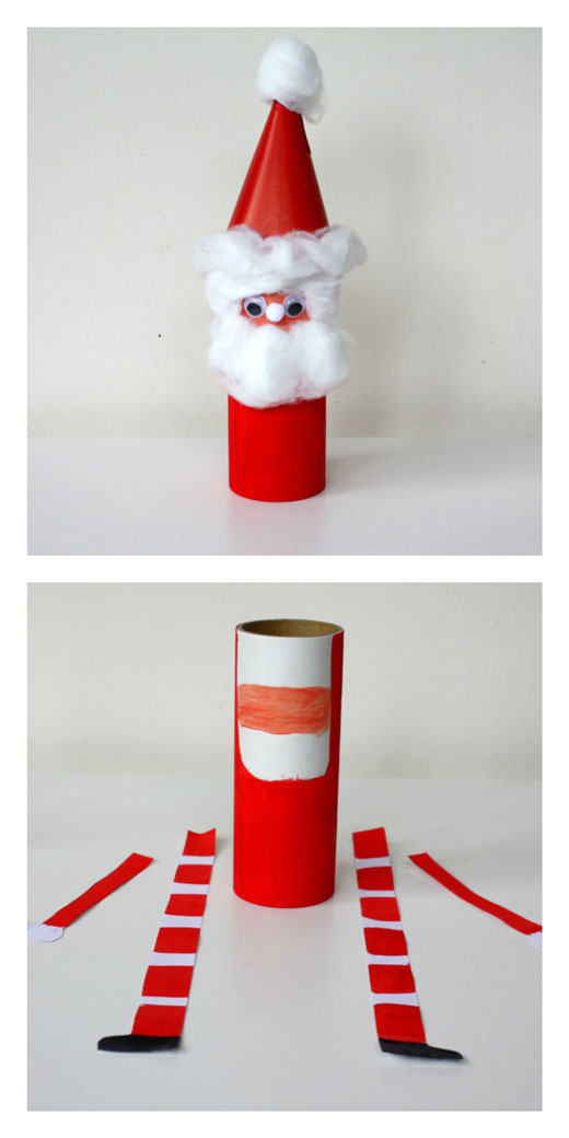 DIY-Jolly-Santa Kids Craft