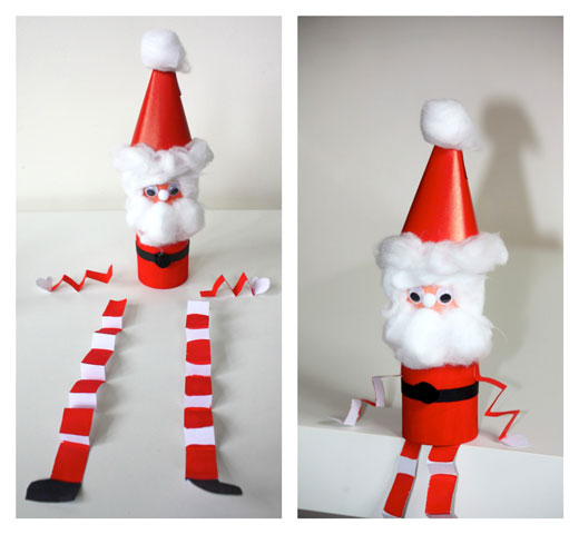 DIY Jolly Santa 3 DIY: Jolly Little Santa