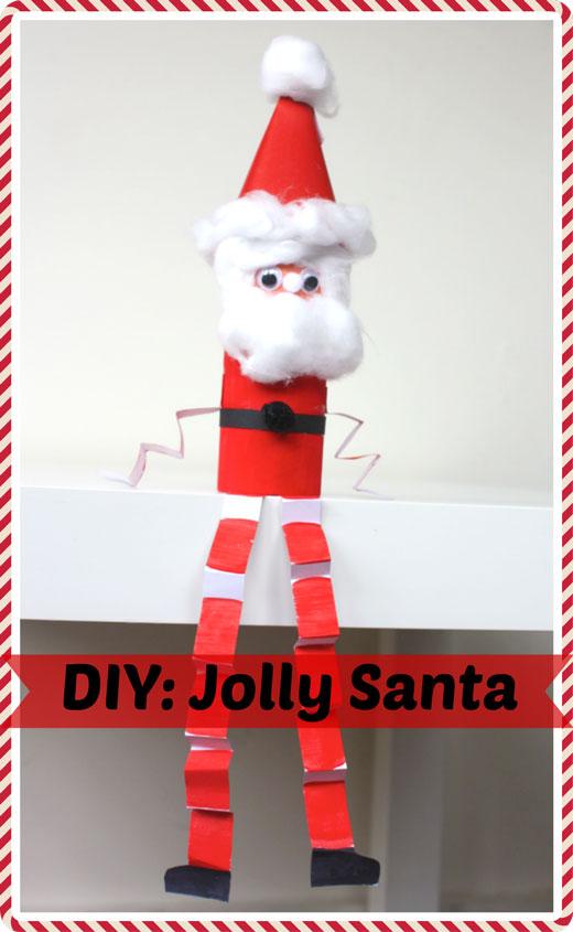 DIY-Jolly-Little Santa Craft