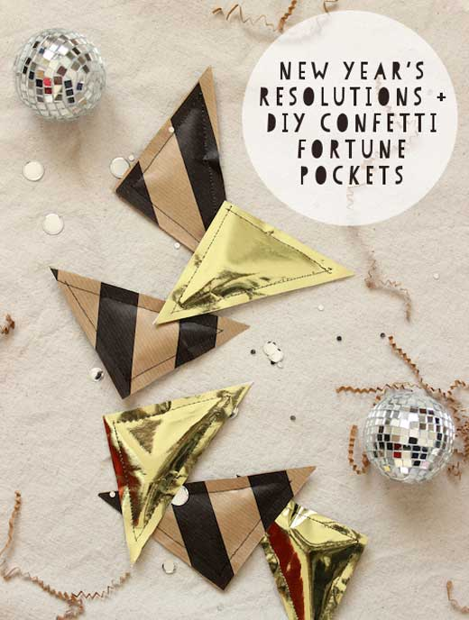 DIY NYE Confetti Filled For 10 New Years Eve Craft Ideas