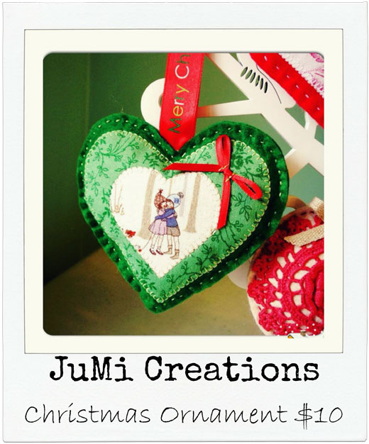 JuMi Creations Let's go Christmas Shopping! Handmade Decorations, Stockings, cards & more..